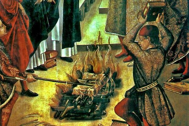 ¡Quemad los libros! Descripción de una obra de 1569 relativa a los sermones de Sant Vicent y la llegada del Anticristo.