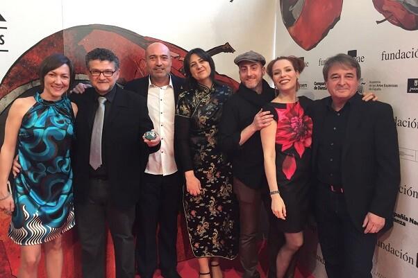 'L'Aneguet Lleig' de Albena Teatro y la Diputación gana el premio Max al mejor espectáculo musical.