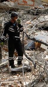 113 personas han sido rescatadas con vida.