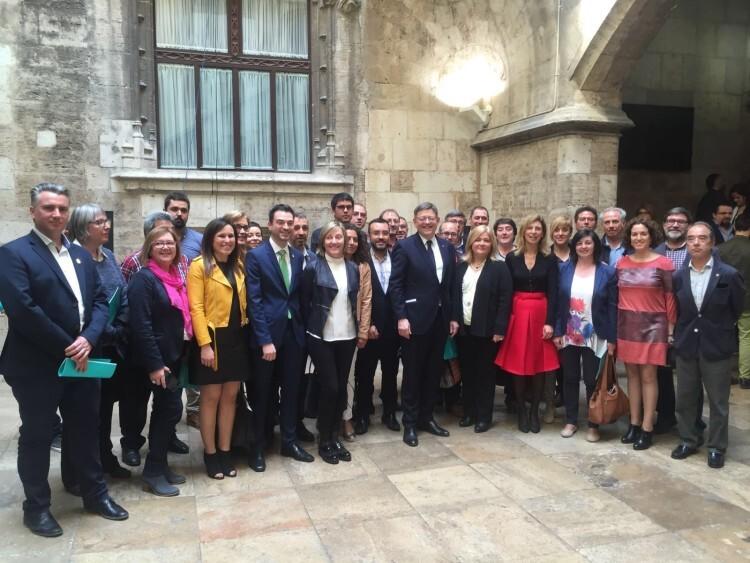 Acte financiacio Generailitat Valenciana