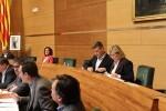 Aguar y Peris desmienten que Ciudadanos votara a favor de celebrar un acto 'anti valencianista' en la Plaza de Toros.