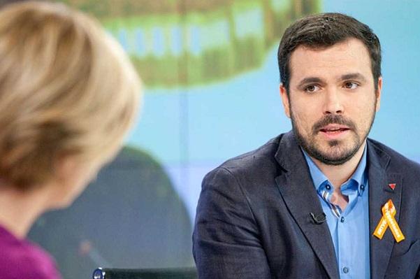 """Alberto Garzón ve """"posible"""" una coalición electoral con Podemos."""