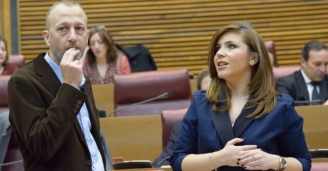 Alex Marí y Mari Carmen Sánchez.