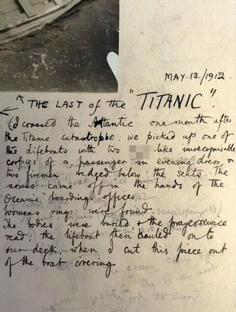 Cómo se encontró y qué había en el último bote salvavidas del Titanic (4)