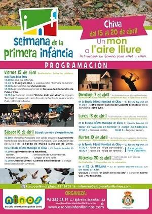 Cartel de la Semana Primera Infancia.