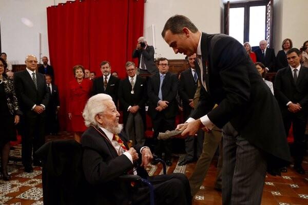 Ceremonia de entrega de los Premios Cervantes 2015  (17)