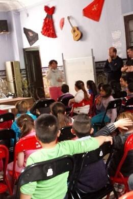 Con esta actuación las aulas mejoran los niveles de iluminación y de confort.