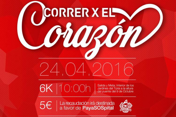 Correr por el Corazón. Carrera Solidaria a favor de PayaSOSpital.