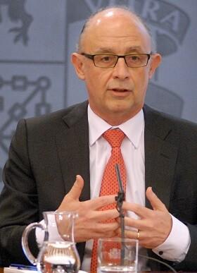 Cristóbal Montoro, ministro de Hacienda y Administraciones Públicas en funciones.