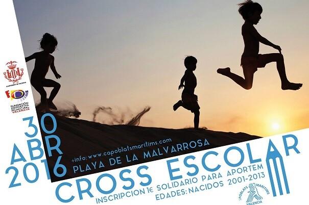 Cross Escolar Poblats Marítims- solidaridad de los más pequeños.