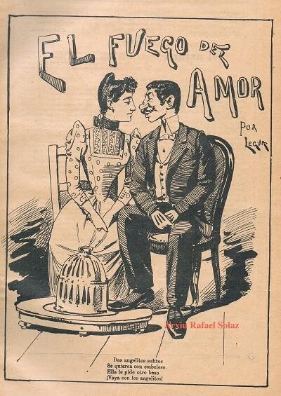 Dibujo de Valencia Cómica,1891