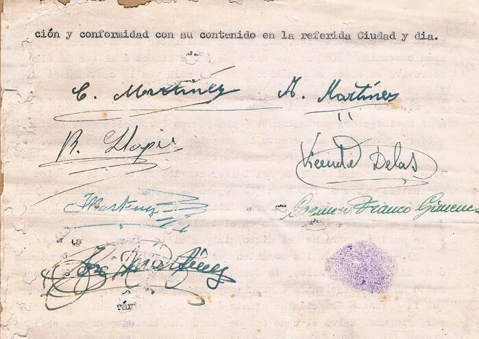 Documento fábrica de cajas de cartón. 1962.