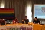 El Ayuntamiento de Valencia, representado por primera vez en un debate estatal con concejales y concejalas LGTB visibles.