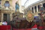 El Ayuntamiento restaurará las rocas de la fiesta del Corpus.
