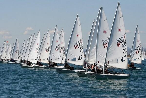 El Gran Trofeo Valencia reúne este fin de semana a la mejor flota de vela ligera.