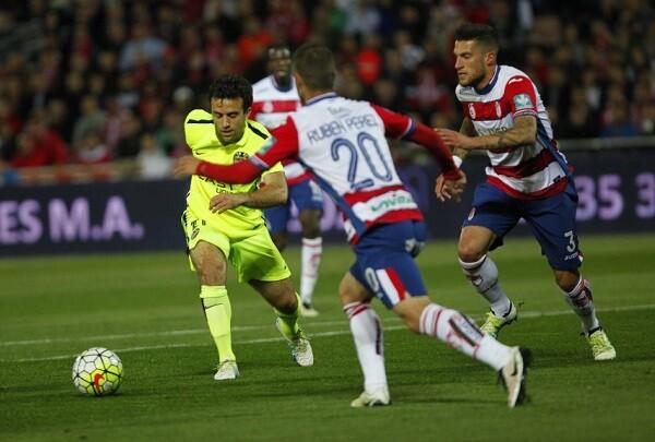 El Levante sufre una durísima derrota frente al Granada (5-1).