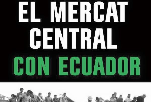 El Mercado Central con Ecuador.
