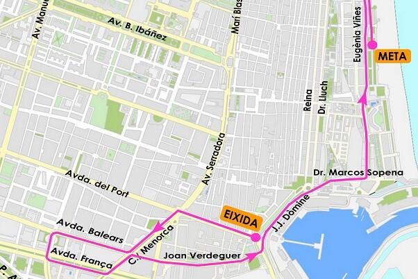 El XII Circuito de la de la Carrera de la Mujer arranca este domingo en Valencia.
