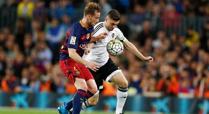 El gol le dio aún más alas al Valencia CF que se fue a por el segundo con mucha seguridad y confianza.(Foto-Lázaro de la Peña).