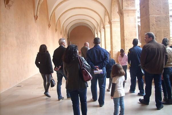El monasterio de San Miguel de los Reyes aumenta el número de visitantes en el mes de marzo.