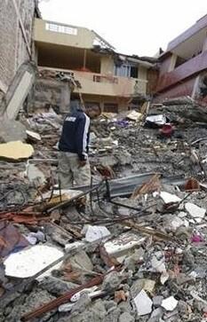 El terremoto se registró a 15,7 kilómetros de profundidad.