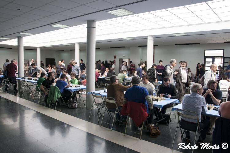 La Sala de juego del Torneo Internacional Ciudad de Segorbe