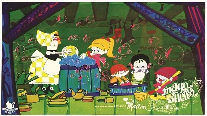 Fotograma original de la película.