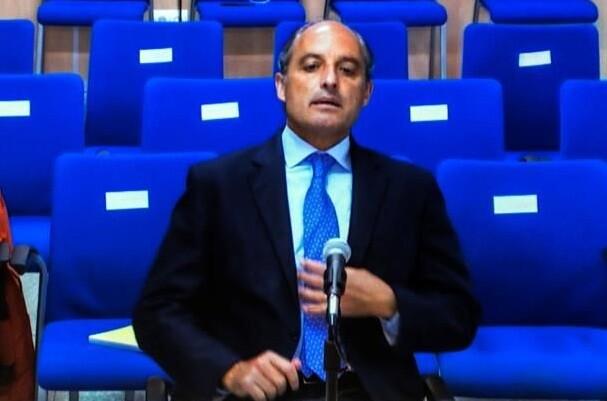 Francisco Camps niega su intervención en la adjudicación de proyectos con fondos públicos a Urdangarin.