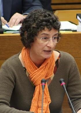 Graciela Ferrer, diputada de Compromís.