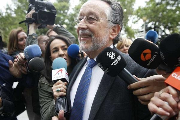 """Grau declaró que María José Alcón no tenía """"constancia en absoluto"""" del posible origen ilícito del dinero."""