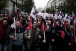 Huelga en el sector público griego contra la reforma de las pensiones de Alexis Tsipras.