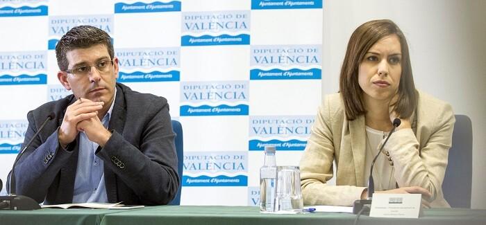 Jorge Rodríguez y Diana Morant. (Foto-Abulaila).