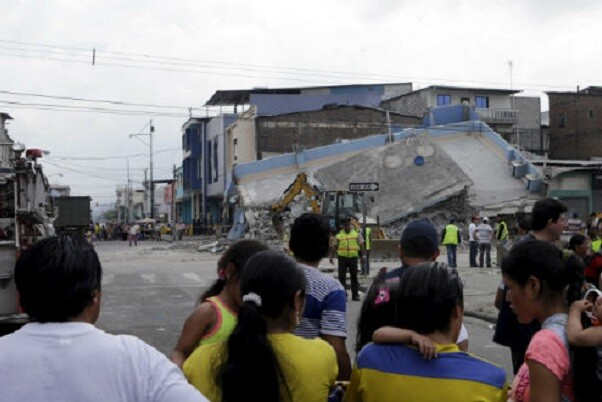 La Comisión Europea enviará ayuda por un millón de euros a Ecuador por el terremoto.