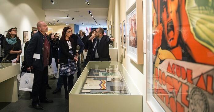 La muestra, que reúne alrededor de 280 piezas (Foto-Abulaila).