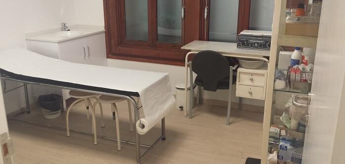 Las anteriores instalaciones médicas funcionaron 27 años pese a ser provisionales.