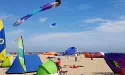 Las playas de Valencia se llenan de cometas en el 19 del Festival Internacional del Viento (11)