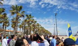 Las playas de Valencia se llenan de cometas en el 19 del Festival Internacional del Viento (19)