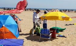 Las playas de Valencia se llenan de cometas en el 19 del Festival Internacional del Viento (25)