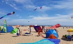 Las playas de Valencia se llenan de cometas en el 19 del Festival Internacional del Viento (27)