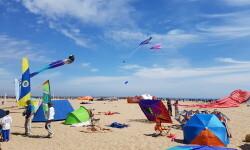 Las playas de Valencia se llenan de cometas en el 19 del Festival Internacional del Viento (29)