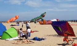 Las playas de Valencia se llenan de cometas en el 19 del Festival Internacional del Viento (41)