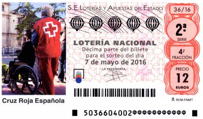 Lotería Nacional Sorteo  34, sábado 30 de abril de 2016 resultados y premios