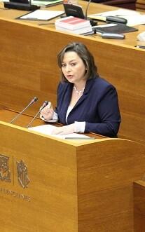 María José García, diputada de Ciudadanos.