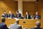 Morera reivindica el valor de la transparencia de los interventores para combatir la corrupción.