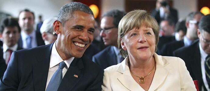 Obama y la canciller Merkel son los máximos defensores del TTIP.