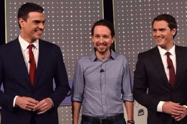 PSOE, Ciudadanos y Podemos acuerdan reunirse este jueves en el Congreso.