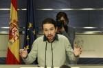 """Pablo Iglesias lamentó que el PSOE haya """"rechazado"""" un Gobierno """"a la valenciana""""."""