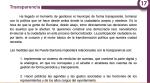 Programa electoral Podemos Transparencia