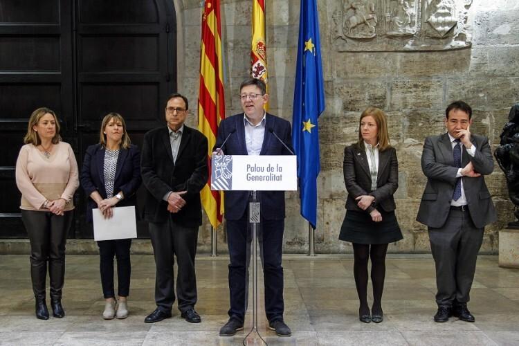 Puig exige al Gobierno la inmediata convocatoria de la Conferencia de Presidentes