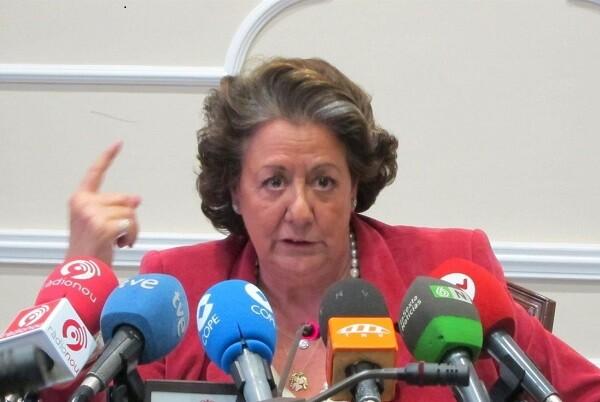 Rita Barberá declara ante la Audiencia de Palma como testigo en el caso Nóos.